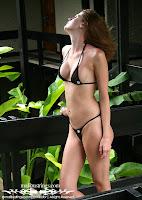Deborah in a Malibu Strings bikini in Jamaica photo gallery