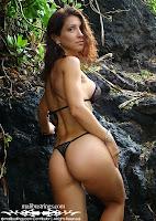 Christel in a Malibu Strings bikini in South Beach, Miami pics gallery