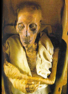 Dead Body of Rameses II phenomena pictures photos gallery
