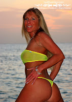 Stacie in a Malibu Strings tiny bottoms and 2 Micro/classic bottoms bikini images gallery