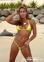 New Kimmy Use Malibu Crystal String Bikini photos gallery