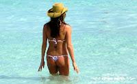Maria in a Santa Barbara & Polka Dot MS Bikini in Varadero, Cuba pics