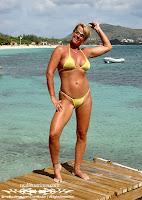 Patricia C in a Sparkle Sheer Bikini (Malibu Strings) in St. Martin photos gallery