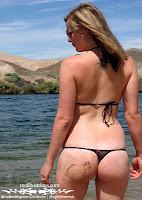 Dorian in a Malibu Strings bikini pic