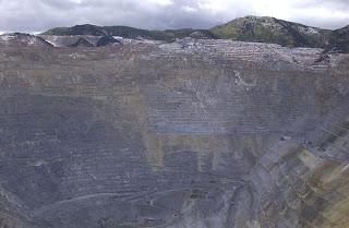 Bingham canyon mine, Salt Lake City, Utah USA pictures gallery