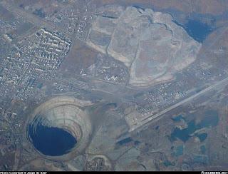 Mirny diamond mine,Siberia RUSIA picture gallery