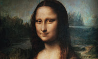 Mona Lisa's eyes reveal code in picture pic photo images gallery