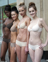 Bravo! M&S launch a bra that blends in with your skin tone