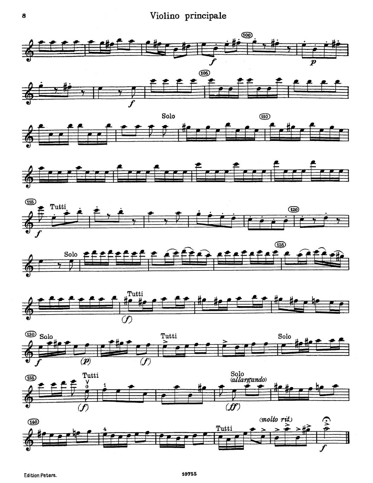 violine principale ViVaLDi