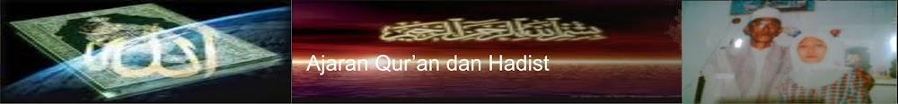 Ajaran AlQur'an dan Sunnah