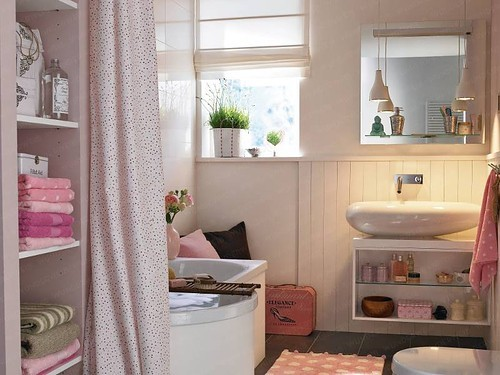 Baño Juvenil Decoracion:Interiores Casa: Baño Juvenil con Armonía y Elegancia