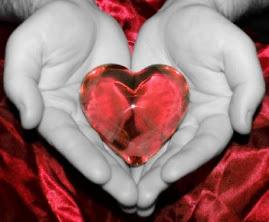 O Senhor tem meu coração em suas mãos...