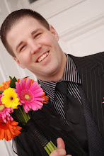 Jeremy! Lookin good with the bouquet!