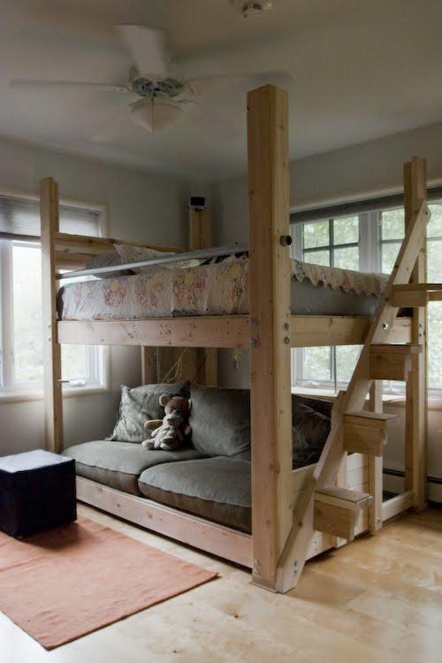Hogar y jardin c mo hacer una cama con palets - Como construir una cama ...
