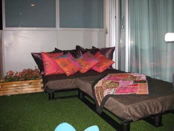 Hogar y jardin c mo hacer una cama con palets for Como hacer una cama con palets