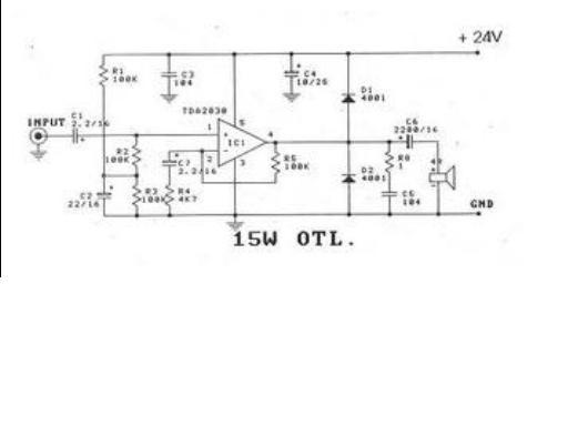 siera teknik elektronics  15w tda2030