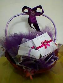 cesta de lembrancinhas