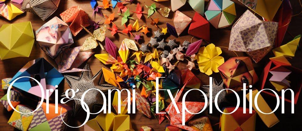 Origami Explotion