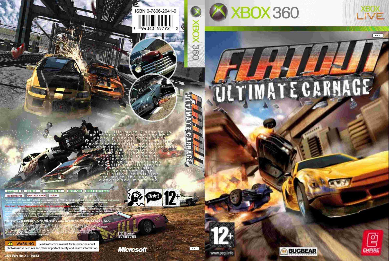 Flatout: Ultimate Carnage Flatout_Ultimate_Carnage_-_Dvd_-_Custom_por_patoleco