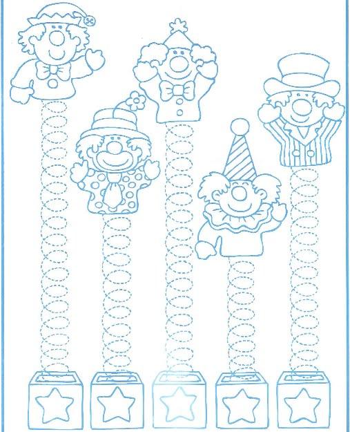 Trazos para Niños de 4 años :: Dibujos para colorear :: Parte 1 ...