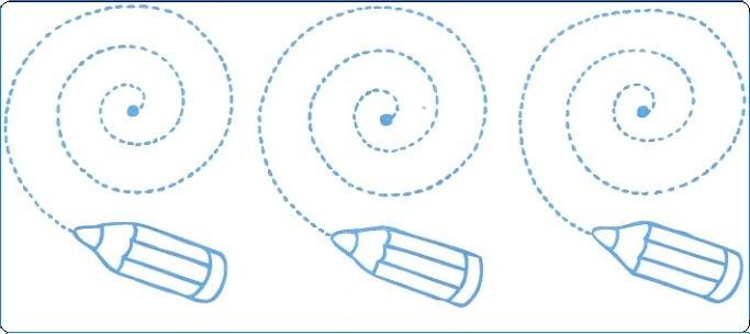 Trazos para Niños de 4 años :: Dibujos para colorear :: Parte 2 ...