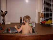 Jackson likes doing the dishes.