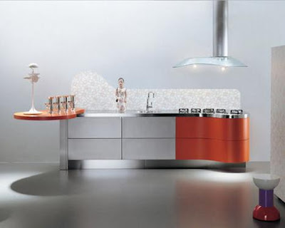 Latest  Modern Kitchens-Sinuosa