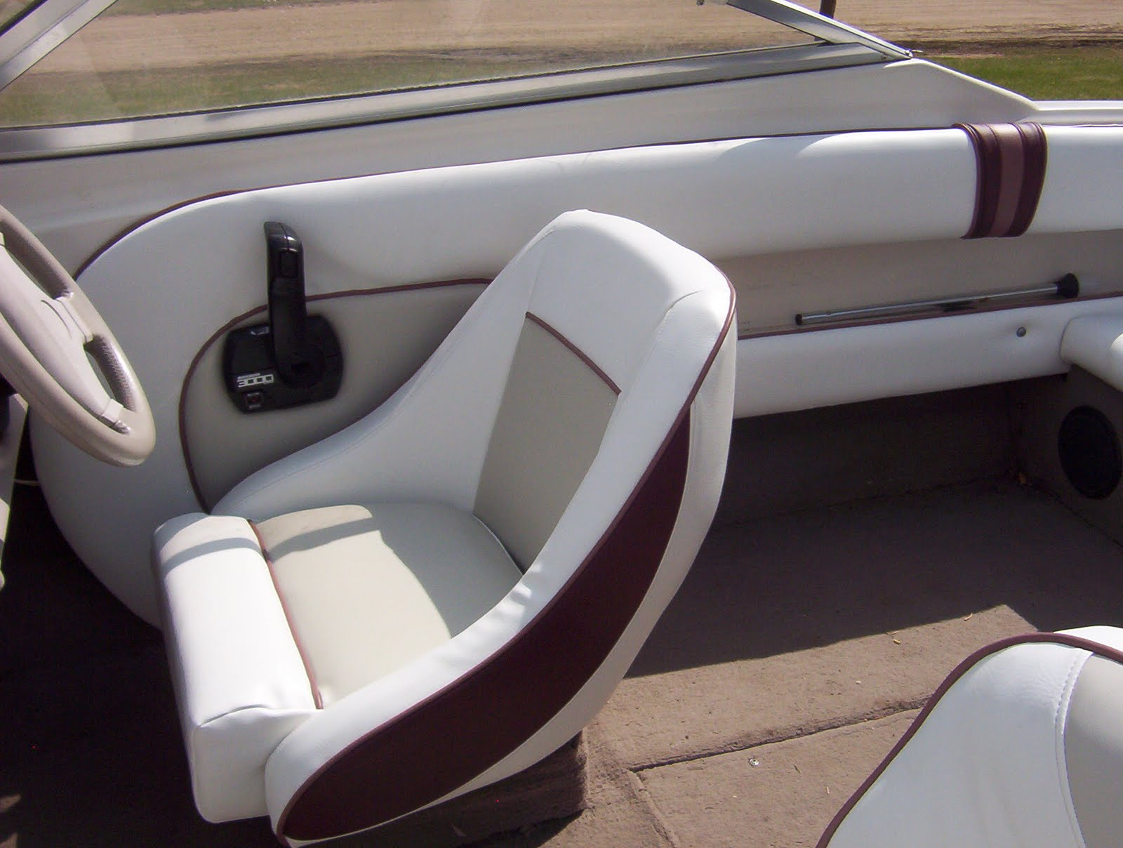 Ted 39 S Upholstery Custom Boat Interior