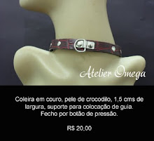 Acessórios - Coleira 28 - Atelier Omega
