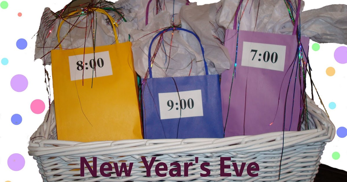 Homemaking Fun New Years Eve Count Down Bags