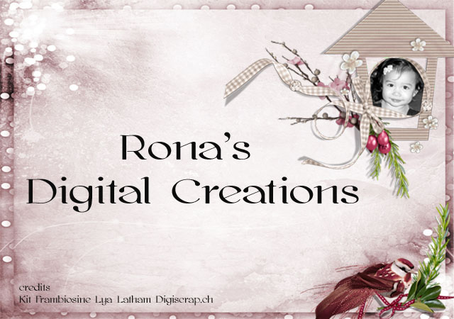 Rona's Digital Creations