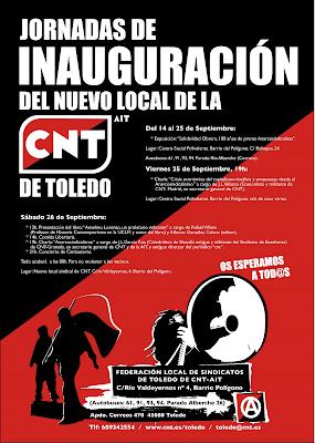 Nuevo Local CNT Toledo.