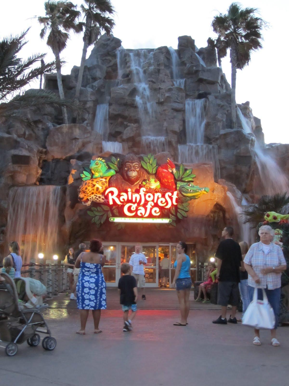 Where Is Brandy Rainforest Cafe In Galveston Texas