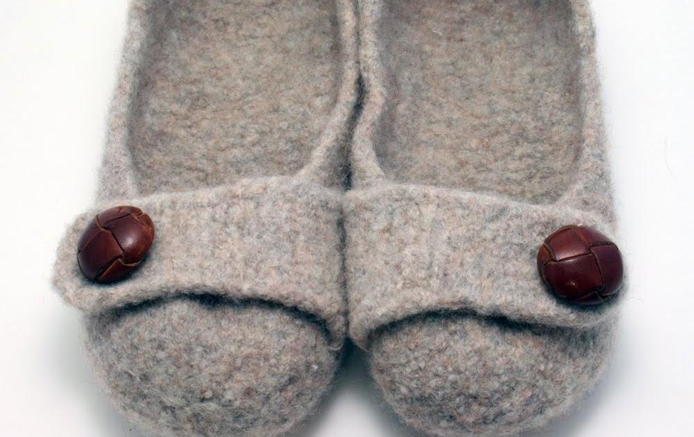 french press knits  happy slipper day