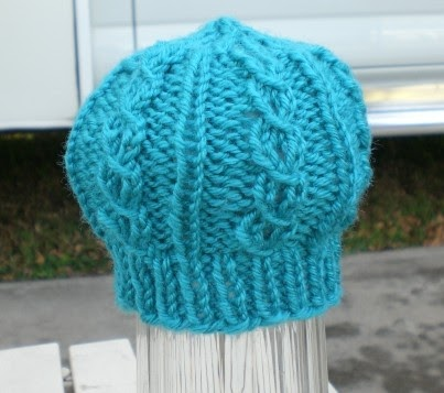 Knitting Up The Road: Beanstalk Preemie Hat Pattern