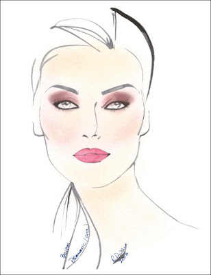 DRAMATIC WEDDING MAKEUP To achieve a beautifully dramatic look on your