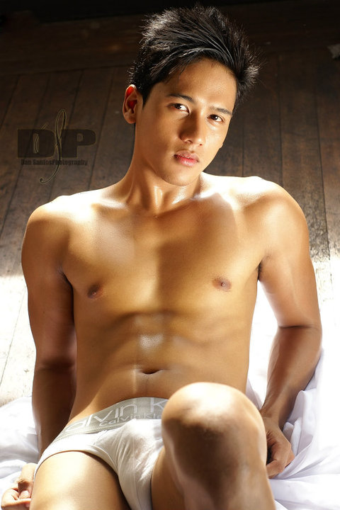 Hot asian guy shirtless