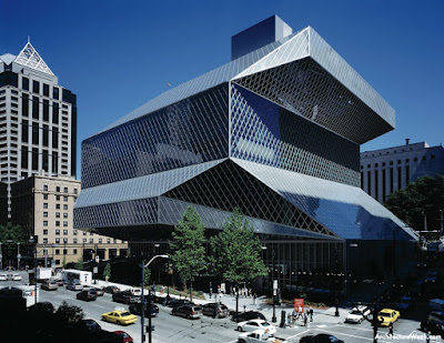 my architectural moleskine koolhaas oma seattle library