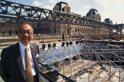 My architectural moleskine i m pei and the louvre museum - Date construction du louvre ...
