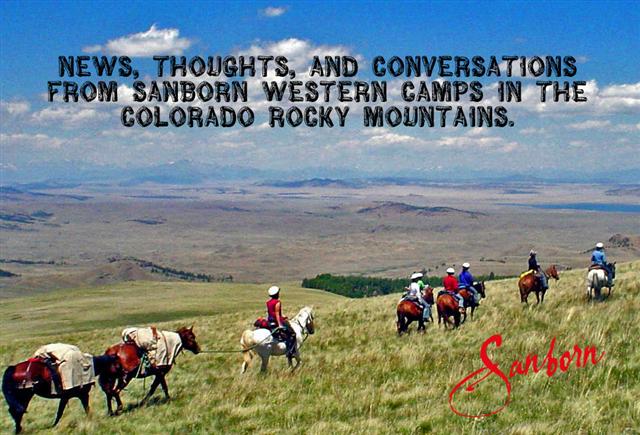 Sanborn Western Camps Blog