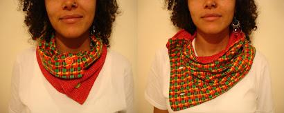 Cuello rojo y cuadros de Nadia - Junio 10