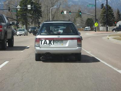 Sketchy Taxi Cab