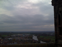 From the top of Worcester Cathedral