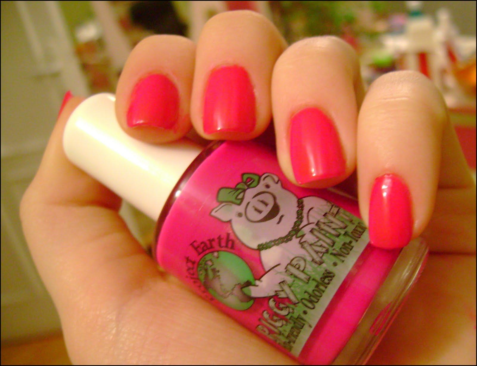 acrylic nail art designs: Piggy Paint nail polish & Giveaway[closed]