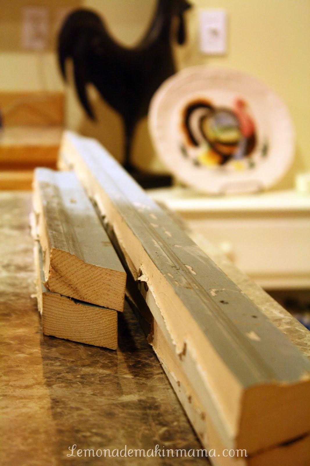 Lemonade Makin\' Mama: Pottery Barn Card Holder, DIY