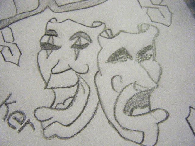 Gangsta Love Drawings A drawing of a gangsta Mickey Mouse Love Drawings