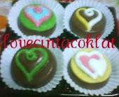 COKLAT OREO BENTUK LOVE