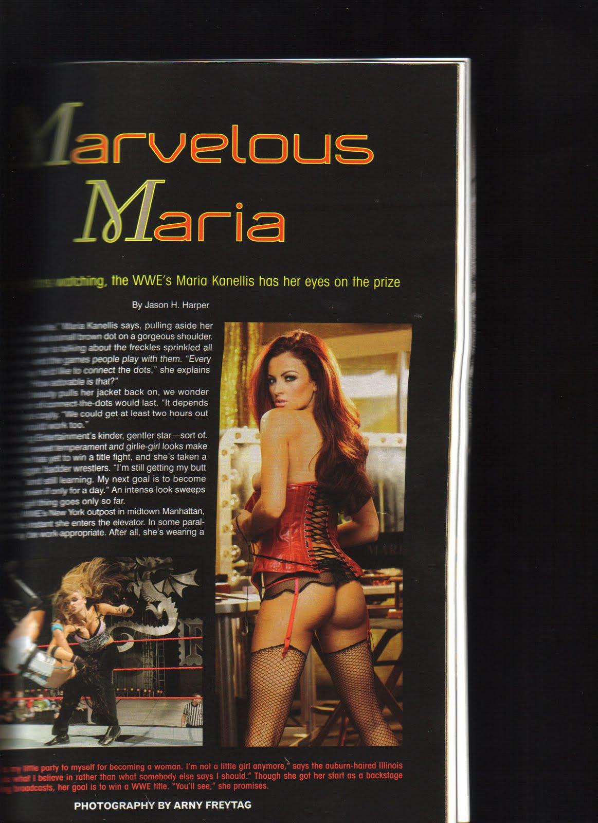 Maria Kanellis Biografia fotos desnuda informacion