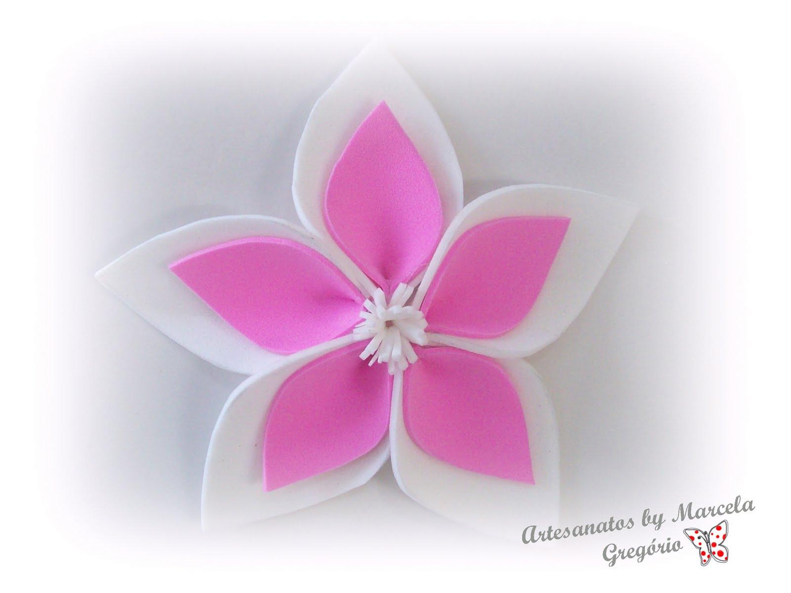 Aparador Movel Branco ~ Artesanatos em E V A Flor EVA