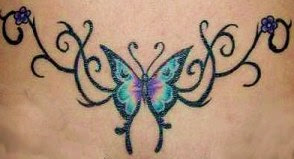 Artistic Butterfly Tattoo 2